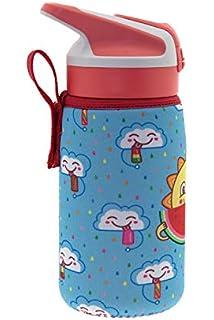 Botella de agua de niño - 350ml Botella a prueba de fugas ...