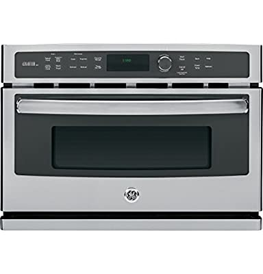 """GE PSB9100SFSS Profile Advantium 27"""" Stainless Steel Electric Single Wall Oven - Convection - Speed Oven"""