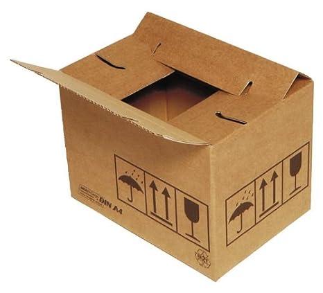 Cajas de Cartón 384 x 284 x 284 mm, Marrón Interior tamaño 384 x 284