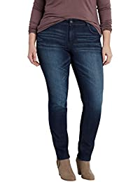 Maurices Women's Plus Size Ellie Dark Wash Skinny Jeans
