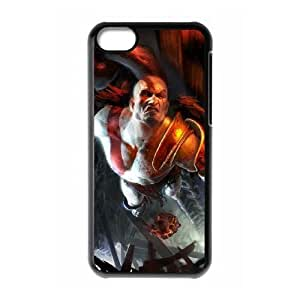 iPhone 5c Cell Phone Case Black kratos god of war Popular games image WOK0705634