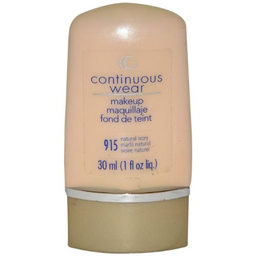 Covergirl Continuous Wear Natural Makeup Foundation - Cappuccino Cream 945 ()