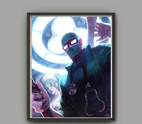 Amazon.com: MS Fun Surgeon Skin Ninja of Shen Fabric Silk ...