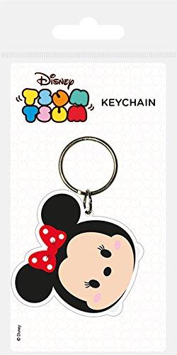 Disney, Llavero de Goma de Minnie Mouse RK38583C de Tsum ...