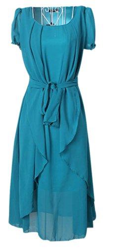 Vonfon Fashion Chiffon Long Dress for Lady