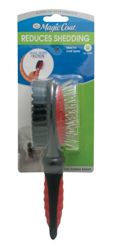 - Four Paws Magic Coat Dog Grooming Combo Brush