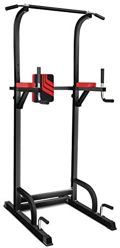 [Amazon.ca] Home Workout Dip station Adjustable Height Pull/Push Up Bar Tower 139.99$