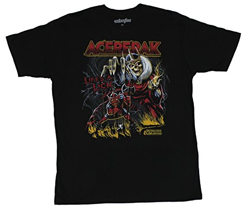 Dungeons and Dragons Mens T-Shirt - Acerack Life's A Lich Demon Image