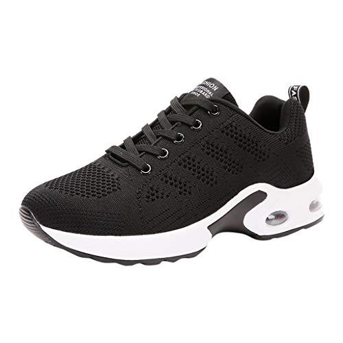 (Women's Yonth Girls Sneakers Walking Shoes, Jiayit Fashion Ladies Breathable Anti-Slip Cushion Sneakers Shoes Outdoor Running Hiking Fishing Athetic Shoes)