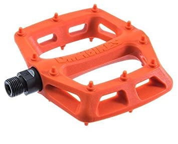 """DMR V6 Pedals 9//16/"""" Plastic Platform Orange"""