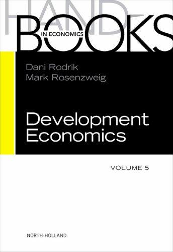 Download Handbook of Development Economics: 5 Pdf