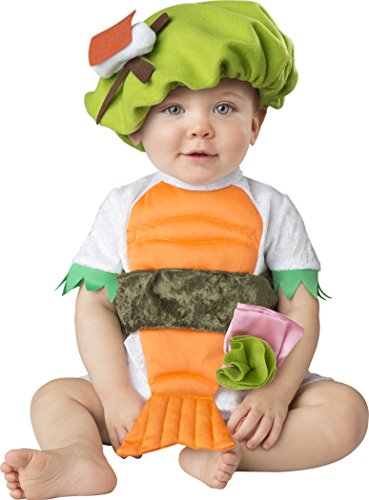 Sushi Costume For Kids (Fun World Baby Silly Sushi, Multi, M)
