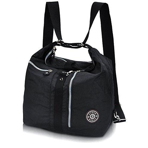 ZYSUN Fashion Travel Backpack Shoulder Bags Nylon Tote Bag Exquisite Handbags