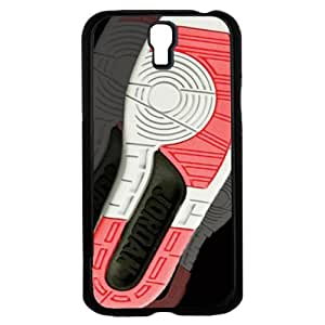 """Red, Black and White Designer Shoe """"2's Infrared Cements"""" Foot Print Hard Snap on Phone Case (Galaxy s4 IV)"""