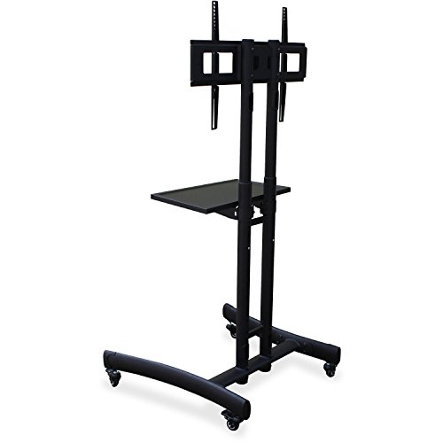 Lorell TV Cart in Black by Lorell
