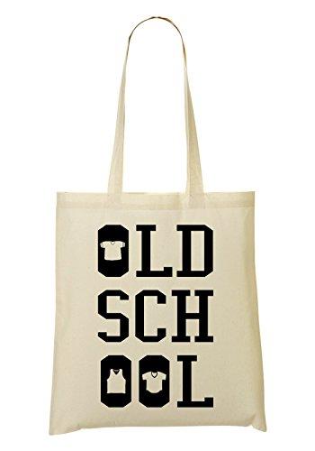 Oldschool Typography Bolso De Mano Bolsa De La Compra