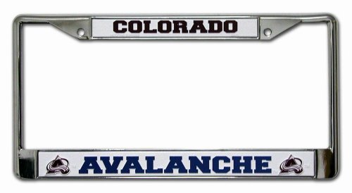 NHL Colorado Avalanche Chrome Frame