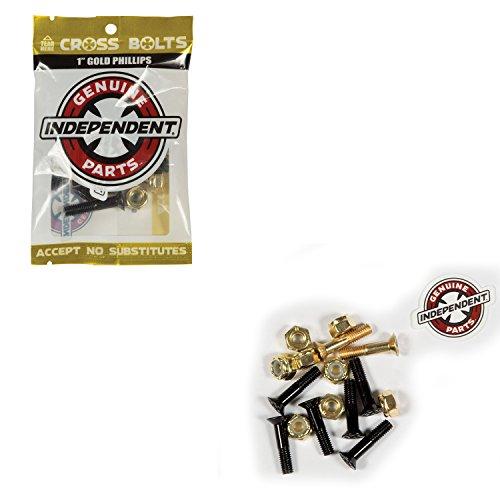 Independent Genuine Parts Phillips Hardware Skateboard Bolts, -