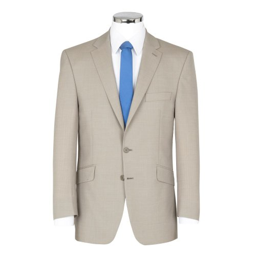 SCOTT Linen Blend Summer Weight Stone Suit Jacket In 46R by SCOTT