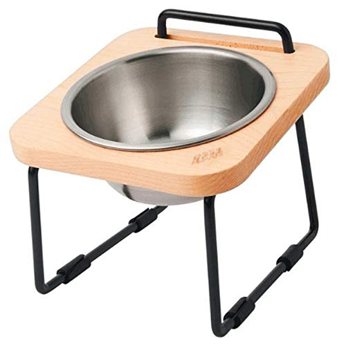 DLwbdx Pet cats, kittens, rice basins, stainless steel inclined surfaces, general small dogs