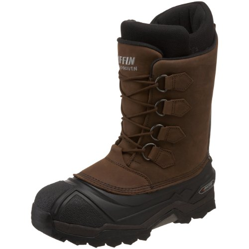 Baffin Men's Control Max Snow Boot,Worn Brown,12 M US