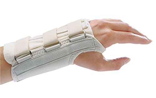 Rolyan D-Ring Left Wrist Brace, Size X-Large Fits Wrists ...