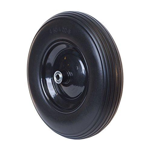 ALEKO-WBNF16-Flat-Free-Replacement-Wheel-for-Wheelbarrow-16-Inch-No-Flat-Tire-Black