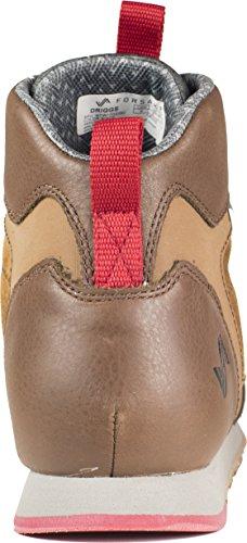 Överge Driggs - Mens Vattentätt Läder Halk Vandring Sneakerboot Bison