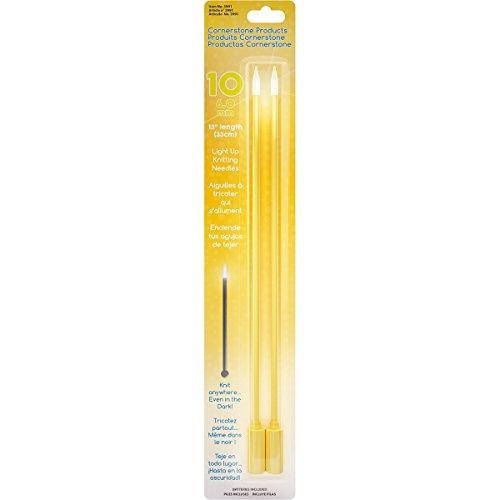 Cornerstone Products 3991 Lite Knitting Needles-Size 10