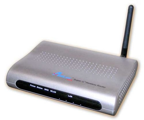 AirLink 101 AR430W 108Mbps 802.11g Wireless LAN/Firewall 4-Port Router
