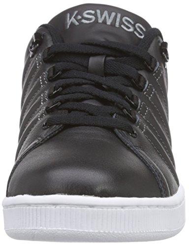 K-Swiss LOZAN III, Low-Top Sneaker uomo Noir (Black/Charcoal 006)