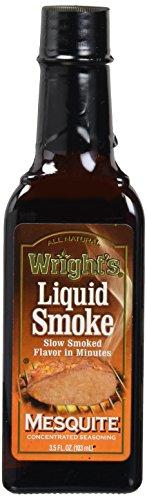 (Wrights Seasoning Mesquite Liquid Smoke, 3.5)
