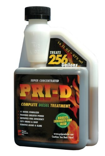 Diesel Fuel Treatment  PRI 16D - Diesel Fuel Stabilizer Shopping Results