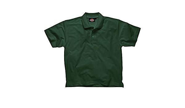 87c238671 Amazon.com: Dickies Polo Shirt, Bottle Green, X-Large: Home Improvement