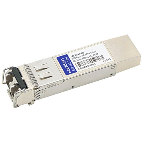 ADD-ON-COMPUTER PERIPHERALS Linksys LACXGSR compatible SFP+ transceiver (LACXGSR-AO) by ADD-ON-COMPUTER PERIPHERALS