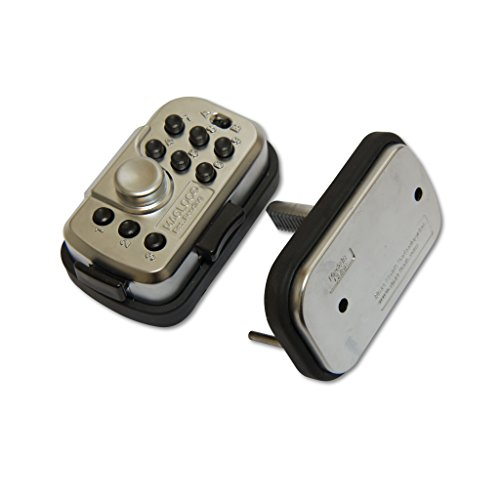QUICKEST Release Button Combination Trigger Lock by Magloc - Can mount on Gun Safe, Used as Padlock, or Door Lock