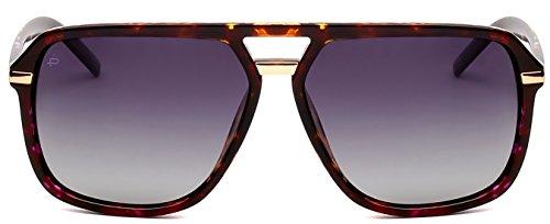 "ollection ""The Bruce"" Designer Polarized Aviator Sunglasses ()"