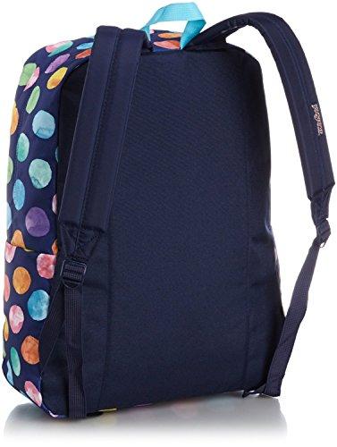 JanSport Superbreak Backpack Multi Watercolor Spots (T5010AN)