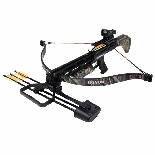 Southland Archery Supply SAS Honor 175lbs Recurve Crossbow Red Dot Scope Package +Bag+9xArrows+Broadheads