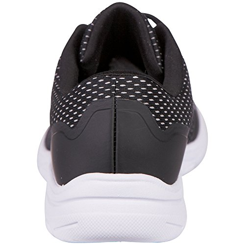 Inexpensive cheap sale 2014 newest Kappa Women's Preppy Trainers Black (1114 Black/L´grey) XYc68