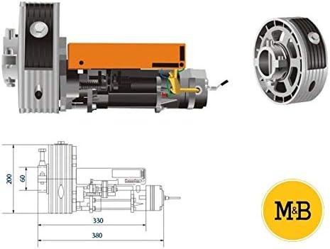 KIT MOTOR PUERTA ENROLLABLE ROLLING 200KG: Amazon.es: Bricolaje y herramientas