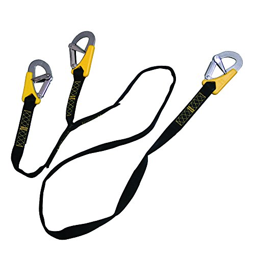 Lalizas Safety Line Life-Link, Fall Protection, Triple, Iso 12401, Length 6'