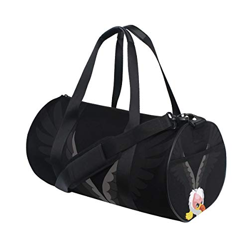 Duffel Bag Letter V For Vulture Women Garment Gym Tote Bag Best Sports Bag for Boys