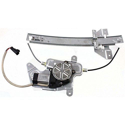 MILLION PARTS Rear Left Side Power Window Regulator with Motor for 1999 2000 2001 2002 2003 2004 Oldsmobile Alero & 1999-2004 Pontiac Grand Am Sedan 4-Door