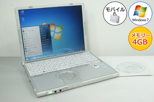 大特価 【中古パソコン】 ノートパソコン Panasonic Panasonic CF-T8GW1AAS レッツノート CF-T8 無線LAN Core2Duo-1.40GHz 4GB 160GB Windows7搭載 12.1型 1024x768 無線LAN リカバリ付 CF-T8GW1AAS MRR B00ATL1DRE, NICブライダルペーパーサポート:655af748 --- arianechie.dominiotemporario.com