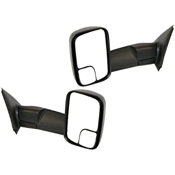 NEW LH MANUAL MIRROR FOR 2002-2009 DODGE PICKUP RAM 2500 3500 CH1320227