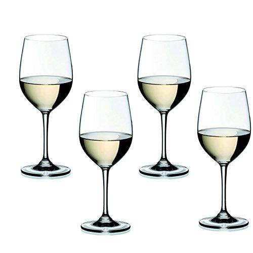 Riedel Vinum Leaded Crystal Viognier/Chardonnay Wine Glass, Set of 4