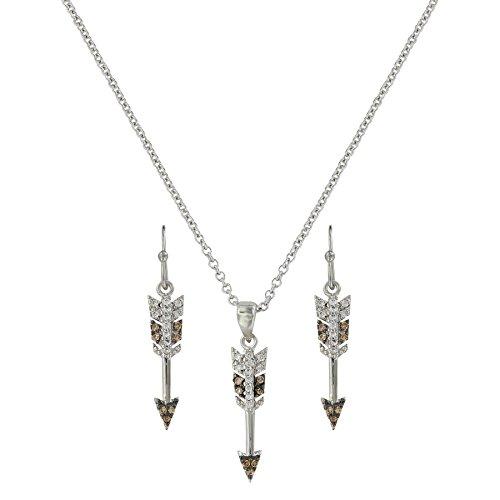 Mini Arrow Jewelry Set(JS3766) (Montana Silversmiths Jewelry Set)