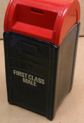 Vintage Avon First Class Male Mailbox Aftershave Bottle -...