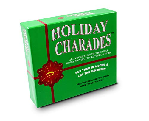 Anton Publications Holiday Charades Game | This Classic and Original Charades Game is The Perfect Addition to Your Other Holiday - Christmas Game Trivia